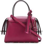 Tod's tassel detailing mini tote - women - Calf Leather - One Size