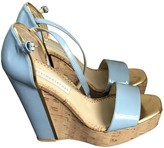 Stella McCartney Stella Mc Cartney Blue Patent leather Sandals