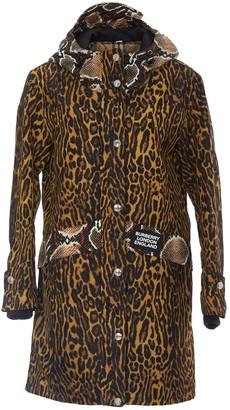Burberry Animal Print Raincoat