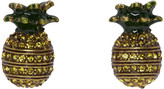 Marc Jacobs Brass Pineapple Earrings