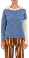Acne Studios Women's Rafa Colorblocked Mohair-Blend Sweater