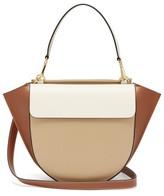 Wandler Hortensia Medium Leather Shoulder Bag - Womens - Beige Multi