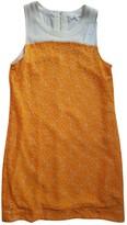 Patrizia Pepe Orange Dress for Women