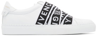 Givenchy White Webbing Low Sneakers