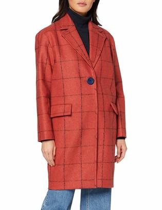 Cacharel Women's MANTEAU DROIT FINITION Midi Coat