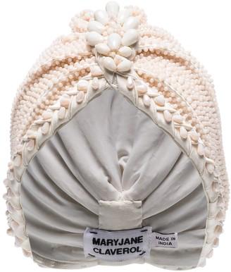 MaryJane Claverol Guayana bead embellished turban