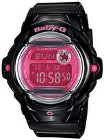 Baby-G Casio Black and Pink Telememo Watch