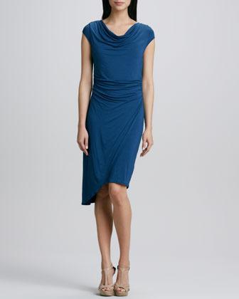 T Tahari Millie Jersey Dress