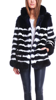 Each X Other Mariner Fur Coat