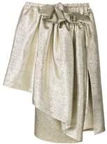 Stella McCartney Women's Gold Polyester Skirt.