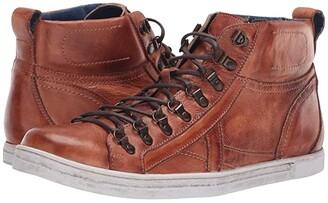 Bed Stu Brentwood (Cognac Rustic) Men's Lace-up Boots