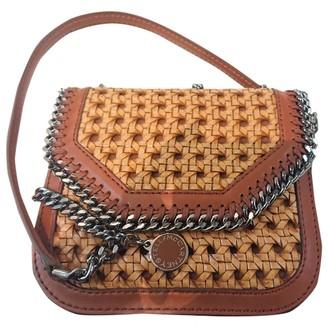Stella McCartney Falabella Box Brown Cloth Handbags
