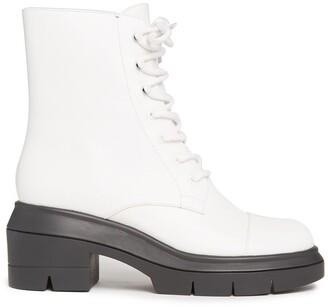 Stuart Weitzman Staurt Weitzman Nisha Lace-Up Boots
