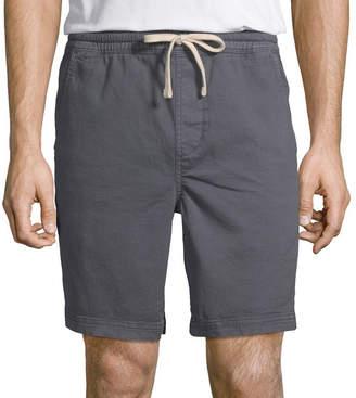 Arizona Mens Mid Rise Jogger Short