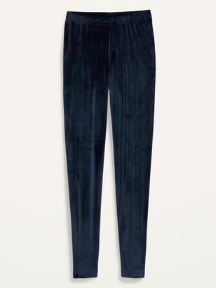 Old Navy High-Waisted Velvet Leggings for Women