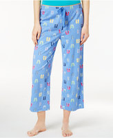 Charter Club Knit Cropped Cotton Pajama Pants, Only at Macy's