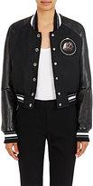 Givenchy Women's Appliquéd Cotton Bomber Jacket-BLACK