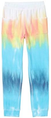 Chaser Cozy Knit Pocket Leggings (Big Kids) (Tie-Dye) Girl's Casual Pants