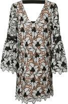 Nicole Miller patterned shirt dress - women - Silk/Polyester/Spandex/Elastane - S