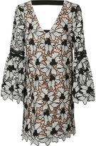 Nicole Miller patterned shirt dress - women - Silk/Spandex/Elastane/Polyester - S