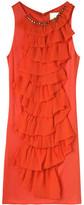 3.1 PHILLIP LIM Blaze Red Tiered Dress