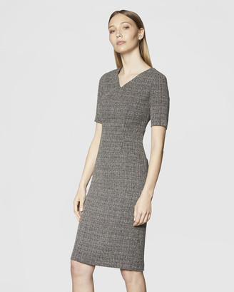 Twill Midsleeve Dress