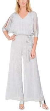 MSK Petite Embellished Blouson Jumpsuit