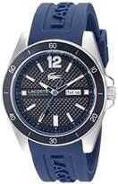Lacoste Men's 2010803 Seattle Analog Display Japanese Quartz Blue Watch