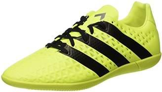 adidas Men's Ace 16.3 in Football Boots, Multicolour (Syello/Cblack/Silvmt)