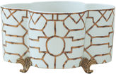 Port 68 14 Scalamandré-Inspired Planter, White