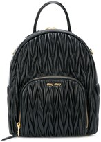 Miu Miu matelasse backpack