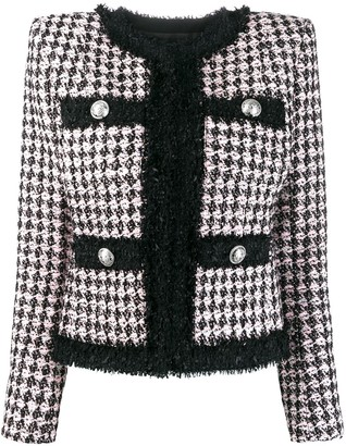 Balmain tweed suit jacket