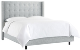 Skyline Furniture Nail Button Tufted Wingback Bed