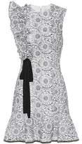 Rebecca Vallance Sofia lace minidress