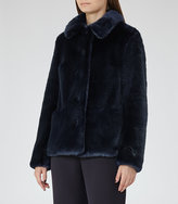Reiss Alexia Faux Fur Coat