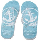Lillian Rose Bride's Captain Flip Flops