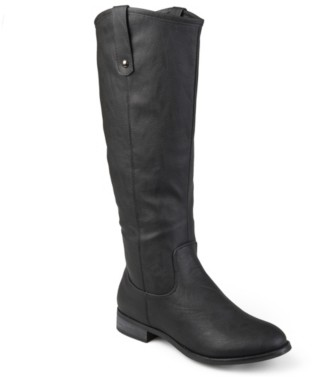 Journee Collection Taven Extra Wide Calf Riding Boot