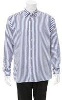 Ermenegildo Zegna Striped Button-Up Shirt