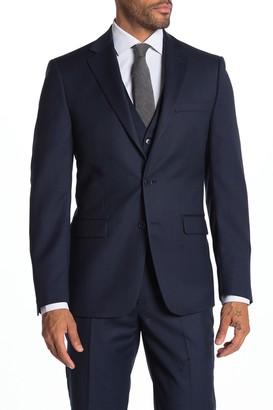 Calvin Klein Malbin Notch Collar Slim Fit Suit Separate Jacket
