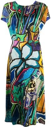 Paul Smith printed midi dress