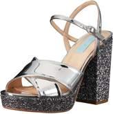 Betsey Johnson Blue Women's Sb-Ollie Platform Dress Sandal