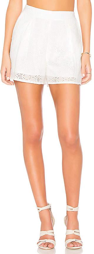 BCBGeneration Eyelet Shorts