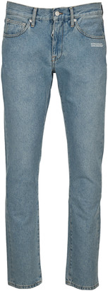 Off-White Off White Diag Pocket Slim Jeans