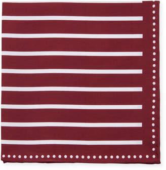 Brunello Cucinelli Men's Bold Stripes Pocket Square