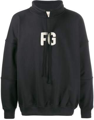 Fear Of God 'FG' embroidered hoodie