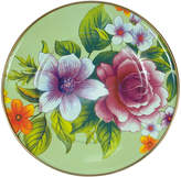 Mackenzie Childs MacKenzie-Childs - Flower Market Enamel Salad / Dessert Plate - Green