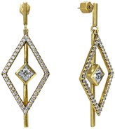 Nicole Miller Pyramid Kite Drop Earring
