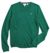 Lacoste Boy's Crewneck Sweater