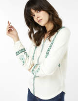 Monsoon Alessandra Embellished Long Sleeve Top