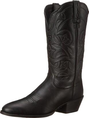 Ariat Women's Heritage R Toe Western Cowboy Boot
